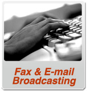 Email and Fax Broadcasting